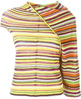 Junya Watanabe Comme Des Garçons - striped top - women - Cotton - M