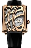 Rosegold RSW Women's 6020.PP.L1.5.00 Wonderland Rose-Gold Black Patent Leather Watch