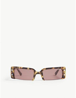 Vogue Gigi Hadid VO5280 rectangle-frame sunglasses