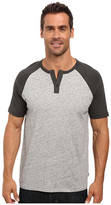 Lucky Brand Grey Label Short Sleeve Baseball