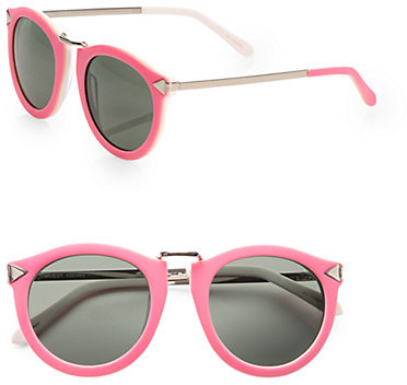 Karen Walker Harvest Round Acetate Sunglasses