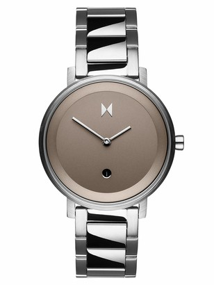 MVMT Womens Analogue Quartz Watch with Stainless Steel Strap D-MF02-S
