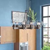 Fulton 8 - Light Kitchen Island Linear Pendant Trent Austin Design