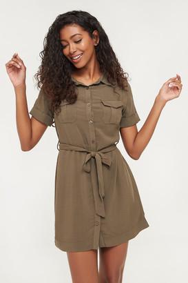 Ardene Utility Shirt Dress