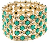 Amrita Singh Crystal & Resin Stretch Bracelet.