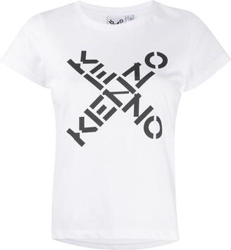 Kenzo cross logo T-shirt