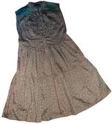 Isabel Marant Khaki Cotton Dress