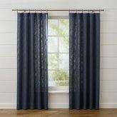 Crate & Barrel Lindstrom Blue Curtain Panels