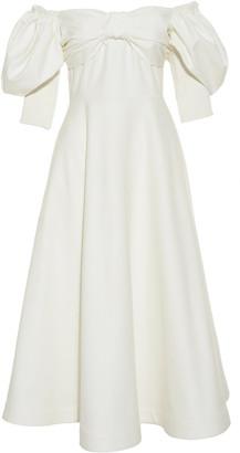 Bardot Anouki Shoulder Dress With Bow
