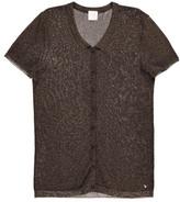 Des Petits Hauts Crocus Glitter Shirt Jumper