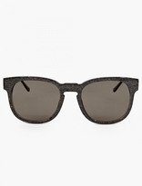 Thierry Lasry Grey Marble Acetate Authority Sunglasses