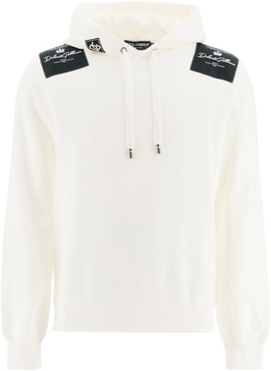 Dolce & Gabbana Hoodie With Patches