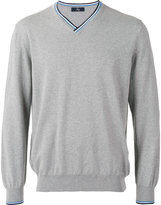 Fay v-neck jumper - men - Cotton - 48