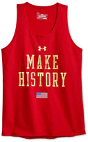 Under Armour Girls' Graphic-Print Tank Top