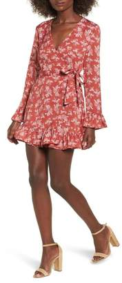 The Fifth Label Ophelia Floral Print Wrap Dress