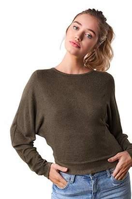Sugar Lips Sugarlips Women's Open Back Long Sleeve Sweater