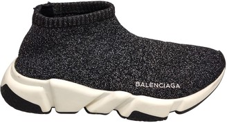 Balenciaga Speed Grey Cloth Trainers