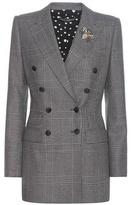 Dolce & Gabbana Check Wool Blazer