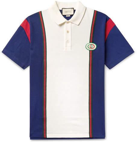 4dc0160f Gucci Men's Polos - ShopStyle