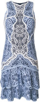 Jonathan Simkhai ruffled lace dress - women - Silk/Cotton/Nylon/Polyester - 2