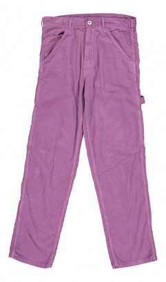 Stan Ray Purple Cotton Trousers