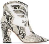 Nicholas Kirkwood Miri Nevada ankle boots