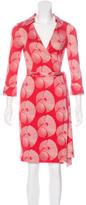 Diane von Furstenberg Justin Wrap Dress