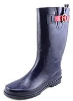 Nautica Saybrook Women Round Toe Synthetic Blue Rain Boot.