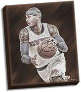 "Steiner Sports New York Knicks Carmelo Anthony 22"" x 26"" Stretched Canvas"