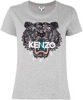 Kenzo Tiger T-shirt - women - Cotton - M