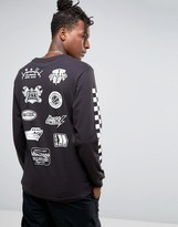 Billionaire Boys Club Long Sleeve T-Shirt With Mechanics Print