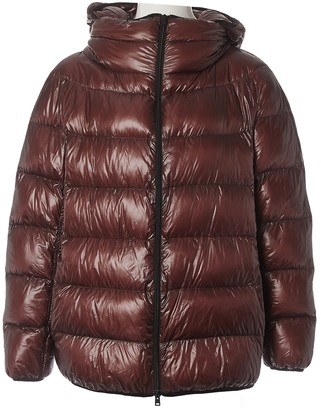 Herno Brown Coat for Women