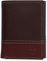 Timberland Men's Hunter Color-Block Trifold Wallet