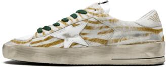 Golden Goose Stardan LTD WMNS 'Horsy Zebra' Shoes - Size 36