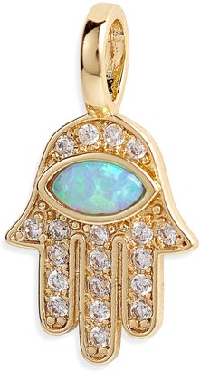 Melinda Maria Icons Opal Hamsa Charm