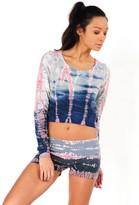 Hard Tail Crop Layer Sweatshirt