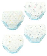 JIEYA 4-Pak Baby Girls Boys Thiken Underwear otton Briefs