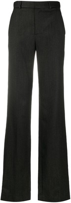 ATTICO High-Rise Flared Trousers
