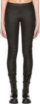 Gareth Pugh Black Leather Pants
