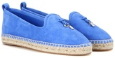 Loro Piana My Charms Suede Espadrilles