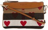 Burberry heart print crossbody bag