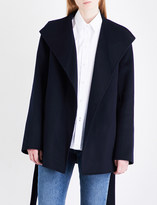 Joseph Lima wool and cashmere-blend cropped coat