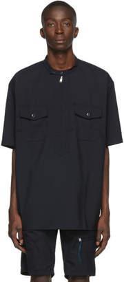 Nonnative Navy Wool Worker Pullover Shirt