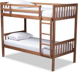 Design Studios Jude Modern And Contemporary Twin Size Bunk Bed