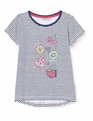 Salt&Pepper Salt and Pepper Girls' Fruchte Stickerei mit Steinchen T-Shirt