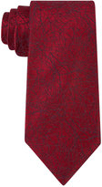 Calvin Klein Men's Red Hot Branches Slim Tie