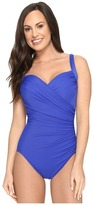 Miraclesuit Solids Sanibel One-Piece Women's Swimsuits One Piece