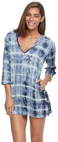 Porto Cruz Women's Portocruz Hooded Tie-Dye Cover-Up