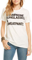 Chaser Champagne Sunglasses & Sweatpants Tee