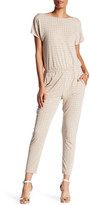 Trina Turk Surplice V-Neck Embellished Jumpsuit